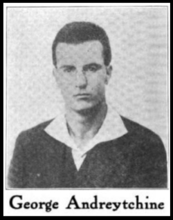 George Andreytchine, ISR, Sept 1916