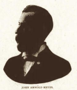 John Arnold Keyes, Labor World, Sep 12, 1896