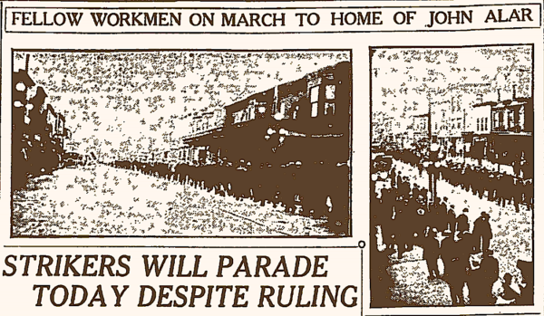 Minnesota Iron Miners Strike, Parade, Duluth Ns-Tb, June 25, 1916