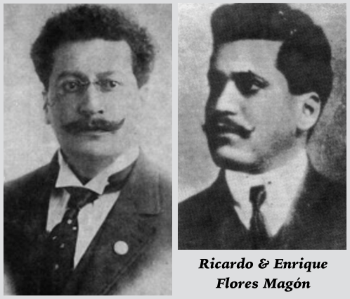 Ricardo & Enrique Flores Magon, founders of PLM