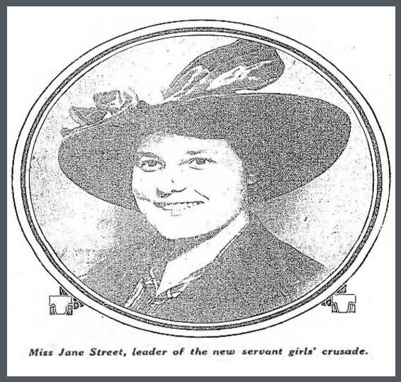 Jane Street, Baltimore Sun, Sept 24, 1916