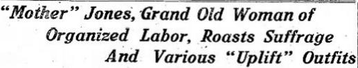 Mother Jones, Logansport Dly Tb IN, Sept 27, 1916