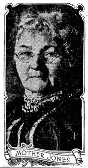 Mother Mary Harris Jones, Logansport, IN, Sept 27, 1916