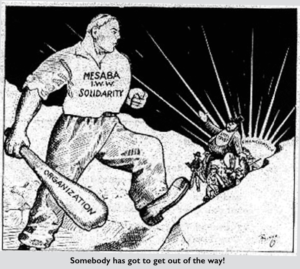 Solidarity, Mesabi, Get Out of the Way, by R Chaplin (Bingo), Aug 19, 1916