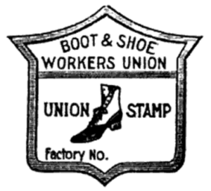 Boot & Shoe Union Label, Constitution 1904