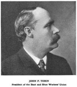 John F Tobin, Boot and Shoe Recorder, Oct 25, 1911