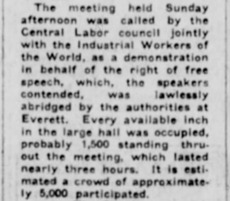 Everett Massacre Dreamland Mtg 11/19, Stt Str, Nov 20, 1916, p1b