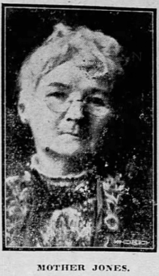 Mother Mary Harris Jones, Decatur Herald IL, May 14, 1916