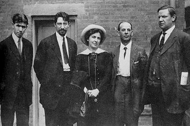 Quinlan, Tresca, EGF, Lessig, BBH, Paterson Silk Strike, 1913