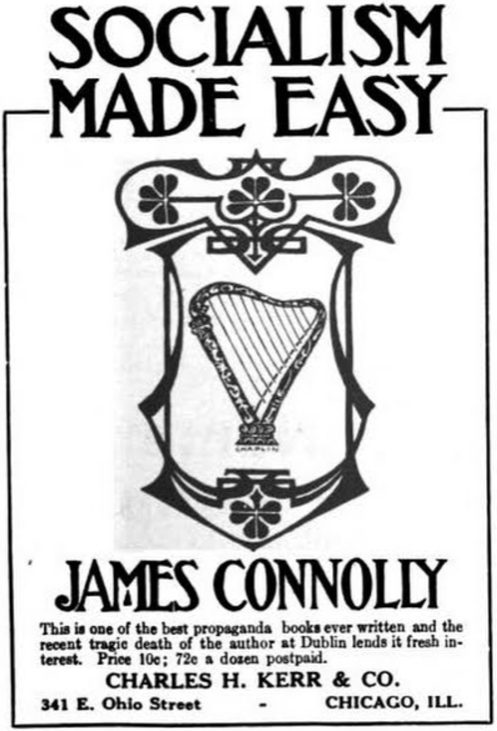 Socialism Made Easy, James Connolly, Ad, ISR, Nov 1916