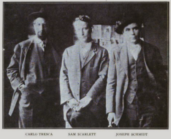 Tresca Scarlett Schmidt, ISR, Nov 1916