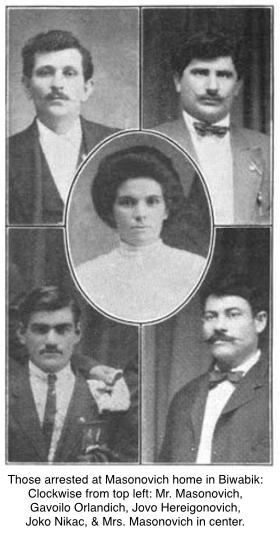 Masonovich-P. & M. & Boarders, ISR, Sept 1916