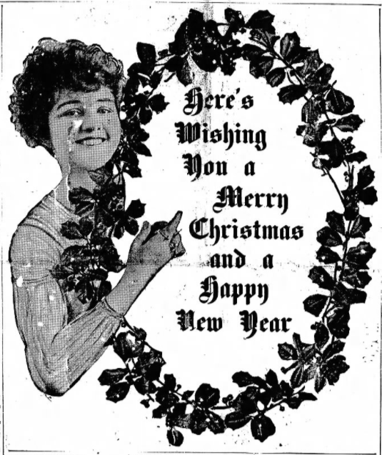 The Labor World, Merry Christmas, Dec 23, 1916
