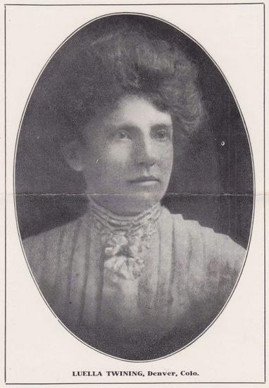 Luella Twining ab 1907