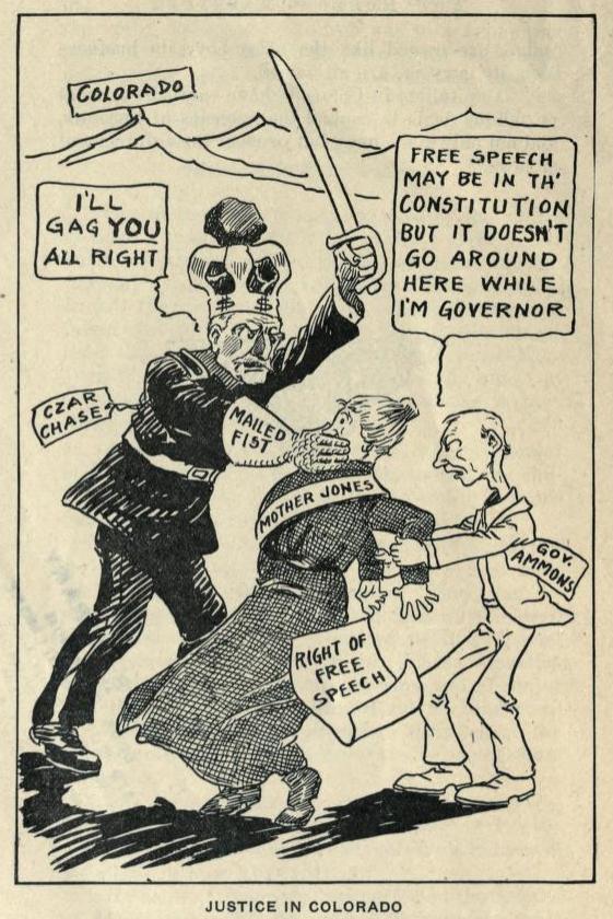 Mother Jones and Justice in Colorado, Jan 1914