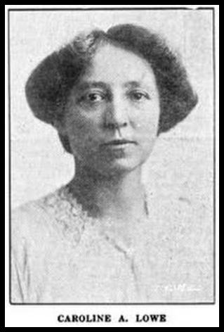 Caroline A. Lowe, Progressive Woman, Sept 1913