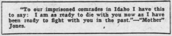 HMP, Mother Jones Ready to Die, AtR Feb 23, 1907