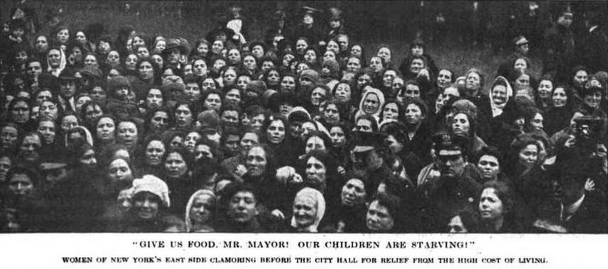 New York Food Riots, Lt Digest, Mar 3, 1917