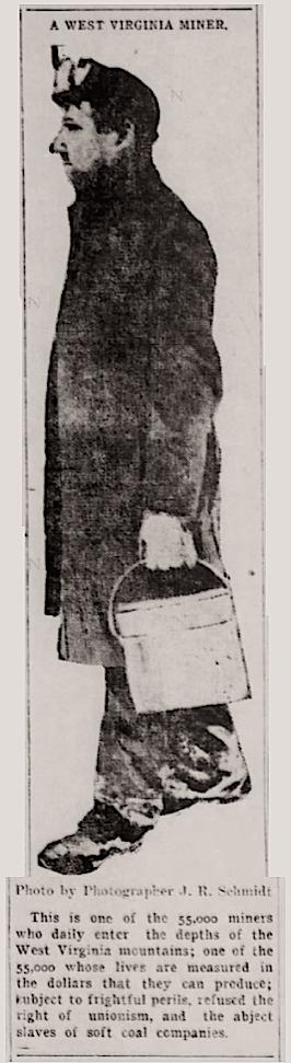 West Virginia Miner, Evansville IN Press, Feb 20, 1907