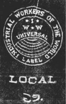 IWW local 69 Salt Lake City logo banner