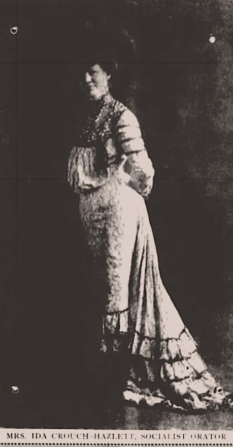Ida Crouch-Hazlett, Socialist, Montana News, Aug 3, 1904