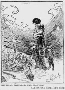 WWI Dead All On Our Side, Ryan Walker, Nw Wkr, Mar 22, 1917