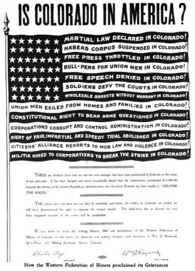 HMP, Colorado in America Poster, Harpers Weekly, May 25, 1907