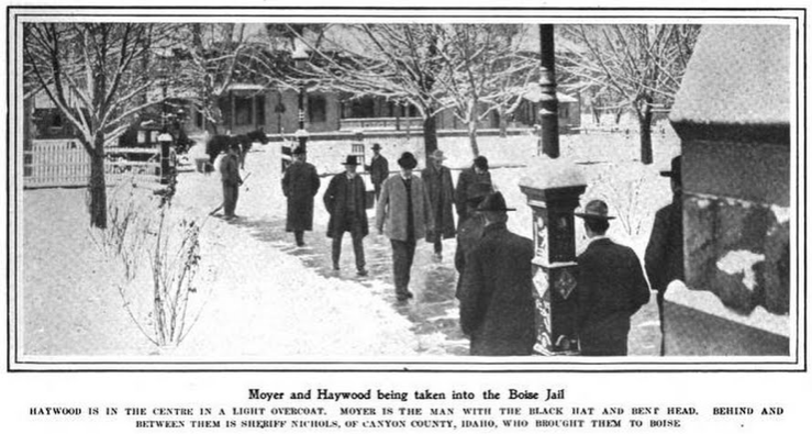 HMP, Moyer Haywood to Boise Jail, Harpers May 25, 1907