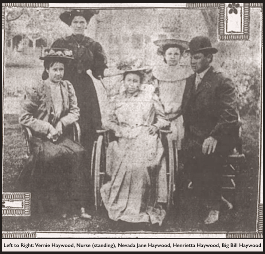 Haywood Family Reunited, Boise, Wilkes-Barre Leader, May 10, 1907, Crpd