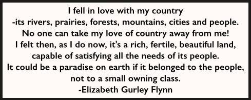 EGF Quote, I fell in love with my country, RG 96