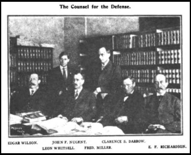 HMP, Def Attorneys, Wilshires, June 1907