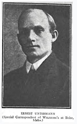 HMP, Ernest Untermann, Wilshires, June 1907