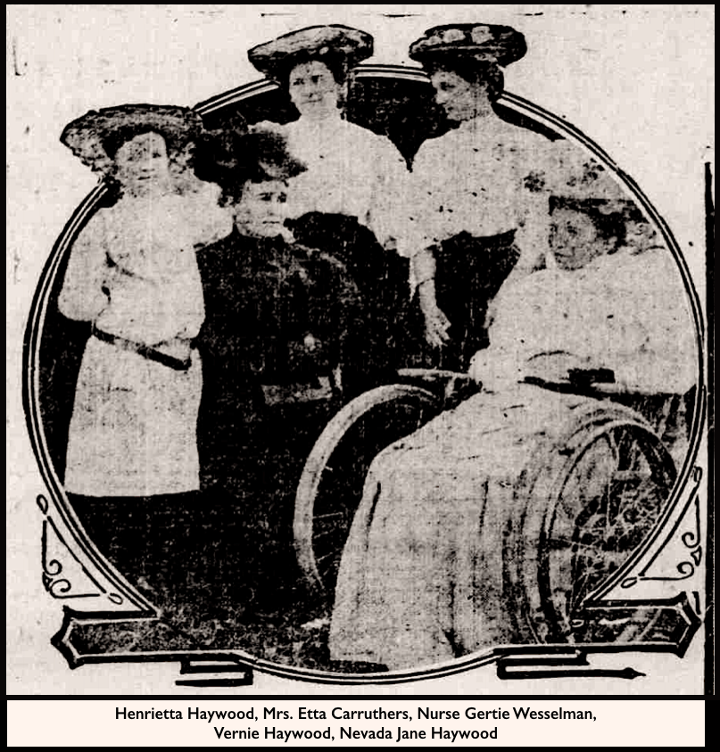 HMP, Haywood Family, Richmond Palladium IN, June 19, 1907