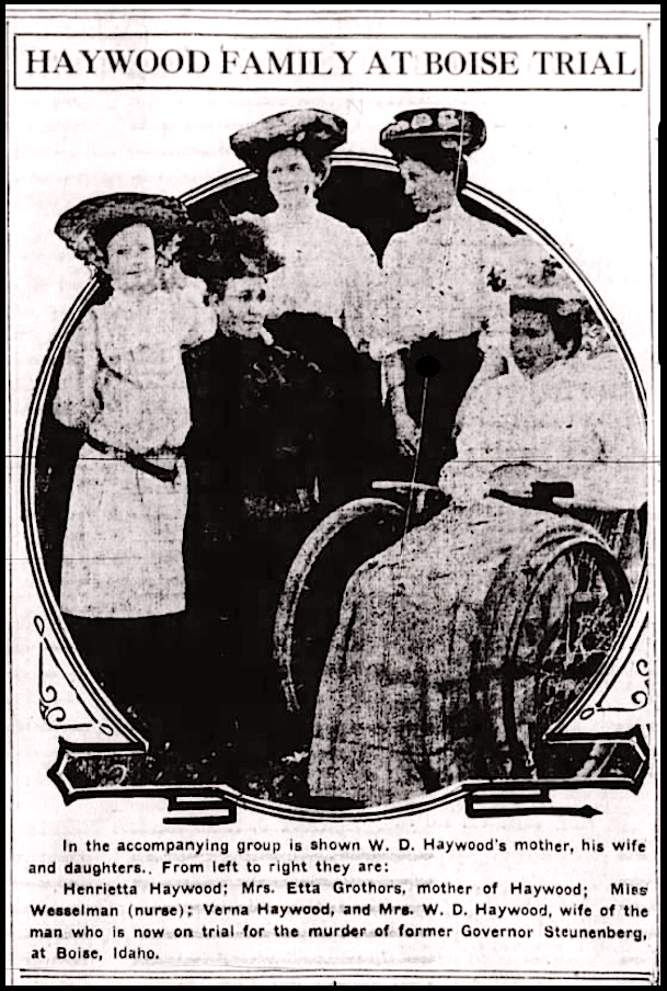 Hellraisers Journal: Photographs: The Haywood Family in