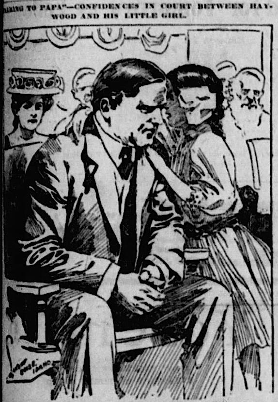 HMP, Haywood and Henrietta in Court, Landon, Stt Str, May 23, 1907
