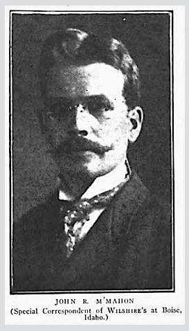 HMP, John McMahon, Wilshires, June 1907
