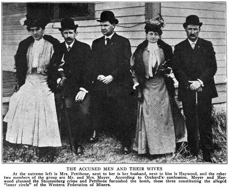 HMP, Pettibone, Moyer, BBH, Wives, Current Lit June 1907
