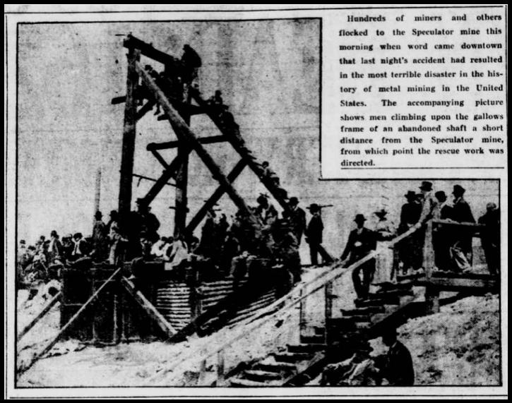 Speculator MnDs, Butte Dly Pst, June 9, 1917