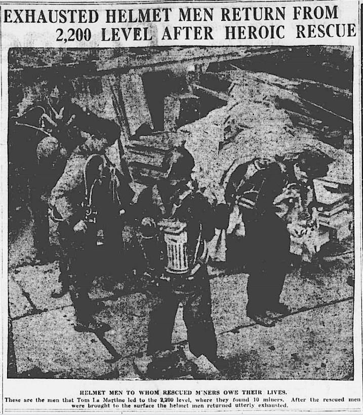 Speculator MnDs, Helmet Men, Btt Dly Pst, June 11, 1917