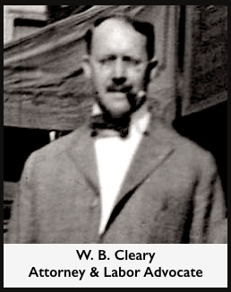 Attorney W. B. Cleary, Manager AZ Gov Hunt Campaign 1916