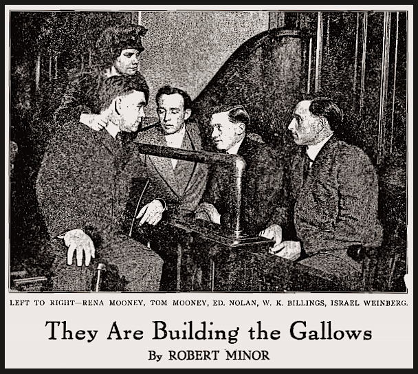 Building Gallows Mooney by Minor, ISR, July 1917