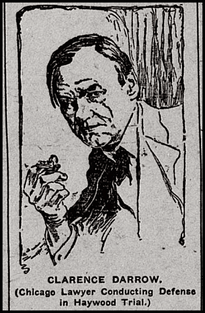 HMP, Clarence Darrow, Cresco IA Pln Dlr, July 2, 1907