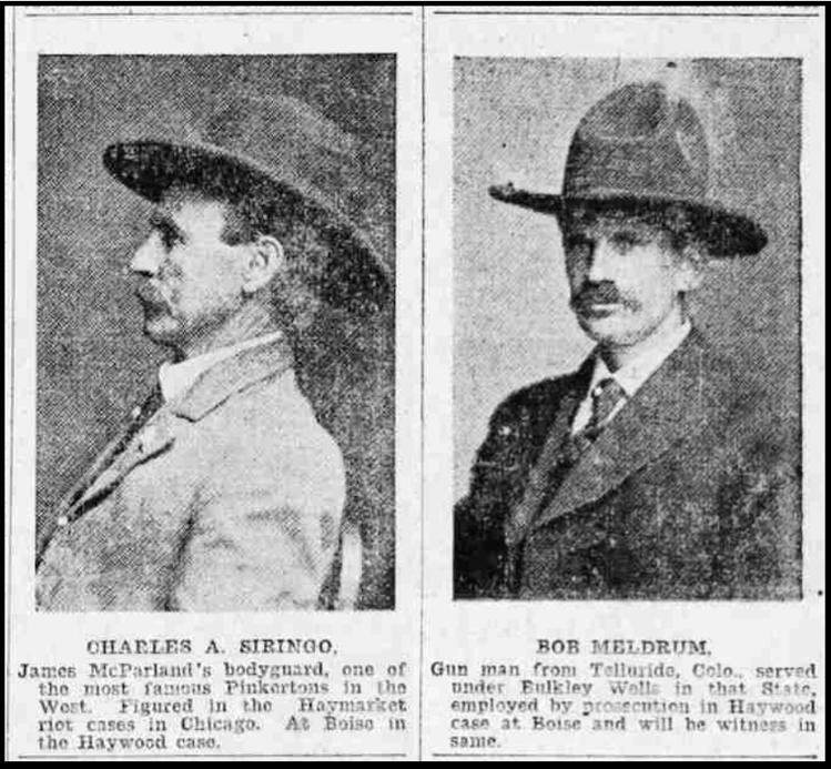 HMP, Gunthugs Siringo & Meldrum, SLTb, June 18, 1907