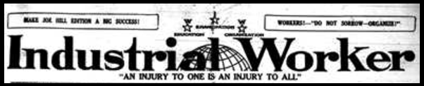 IWW, Industrial Worker Masthead, Oct 1916