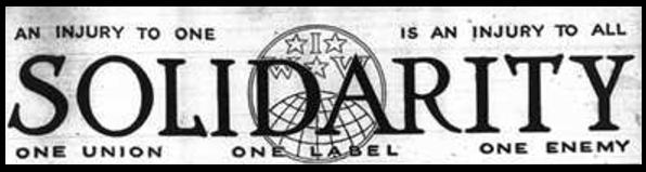 IWW, Solidarity Masthead, May 1917