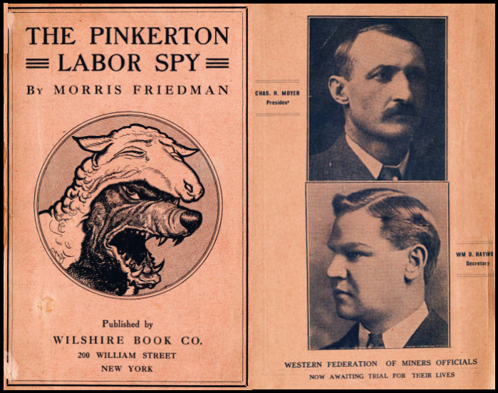 Pinkerton Labor Spy by Friedman, BBH, Moyer, 1907