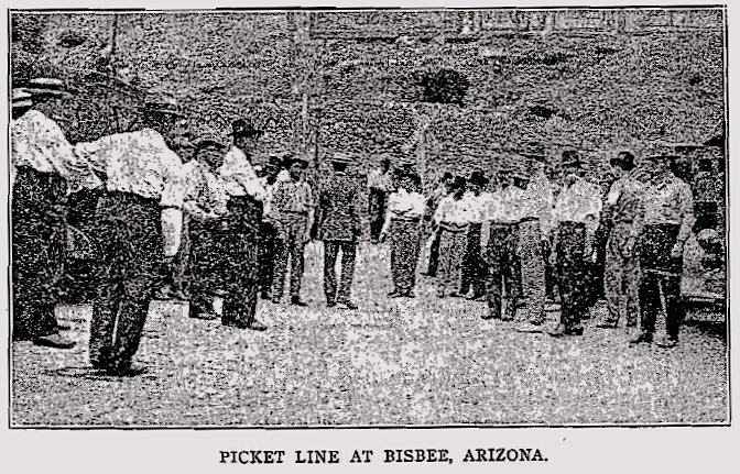 Butte, Bisbee AZ Metal Miners Strikes, ISR Aug 1917-4