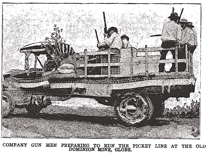 Butte, Bisbee AZ Metal Miners Strikes, ISR Aug 1917-6