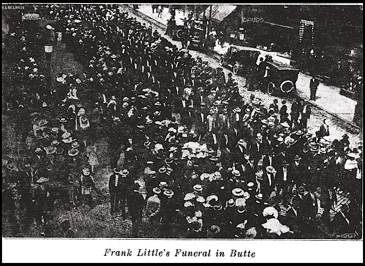 Frank Little, Butte Funeral, Lbr Def, Aug 1926, 2