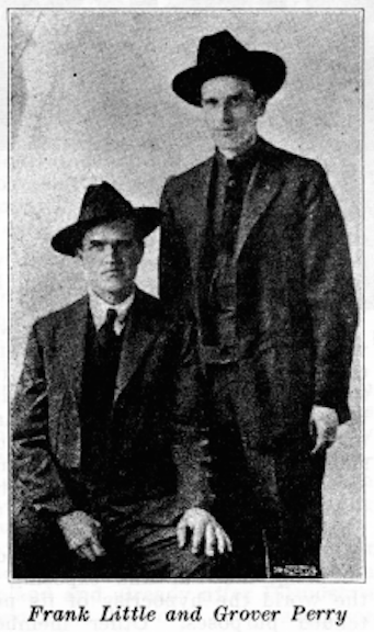 Frank Little, Grover Perry, Lbr Def Aug 1926, Lgr